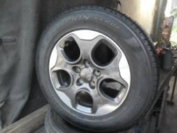 Rodas 16 Jeep Renagade Montas de fábrica com pneus pouco rodados Jogo, Promoção