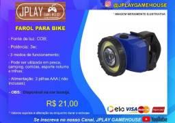 Título do anúncio: Lanterna para Bike com 3 tipos de luzes a prova d'água
