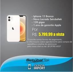Iphone 12 Branco 64 Gigas Lacrado Setubaltek