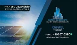 Título do anúncio: Projeto solares! Faça já seu orçamento