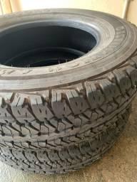 Título do anúncio: Vendo 4 pneus para caminhonete.