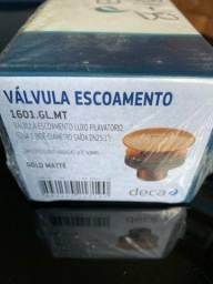Válvula  de escoamento luxo ( LACRADA) nunca usada