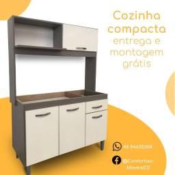 Cozinha compacta, na promoção!,