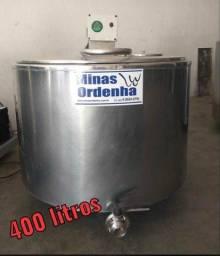 Resfriador tanque de leite 400 litros - Entrego Instalado
