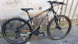 Bike alumínio 24 vel. Toda shimano
