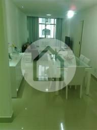 Apartamento à venda com 3 dormitórios em Icaraí, Niterói cod:591814