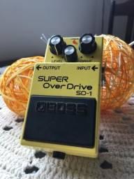 Pedal Super Over Drive SD1
