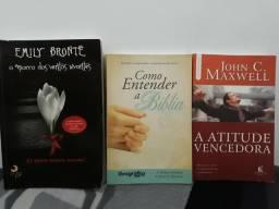 3 livros por 15 reais