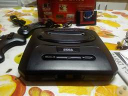 Mega Drive 3 com caixa / manual + cartucho 10 jogos comprar usado  Várzea Paulista