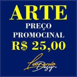 Logo Logomarca Banner Cartão Visita Camisa Personalizada