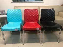 Cadeiras Aluminio
