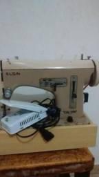 Máquina de costura zig zag doméstica marca Elgin
