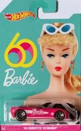 Hot Wheels - '14 Corvette® Stingray? - 60 Anos Barbie - GJN99