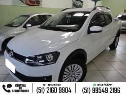 Vw - Volkswagen Saveiro highline 1.6 cd branco - 2015
