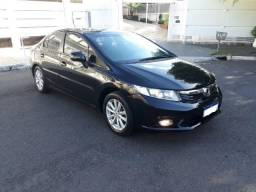 Honda Civic Lxr 2.0 c gnv automatico semi novo - 2014