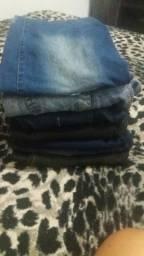 7 calças jeans femenina super barato pra ir logo