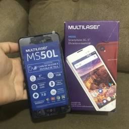 Celular Multilaser MS50L (aceito cartão)