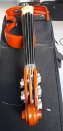 Violino Elétrico 5 Cordas Yamaha Ev 205 (único A Venda) Raro