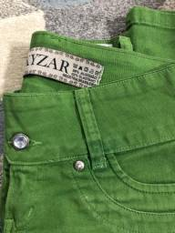Calça jeans verde - Queima 2020!!!