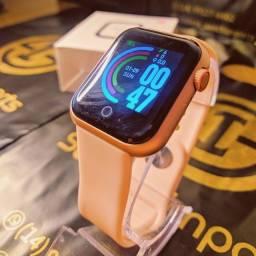 Relógio Smartwatch D28 Rose Gold