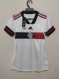 Flamengo Feminina branca P M G e GG