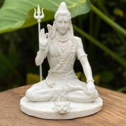 Shiva feito em Marmorite - 25cm