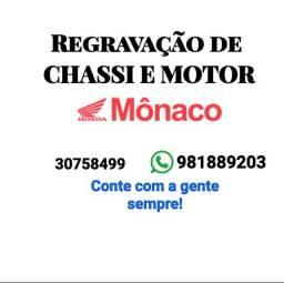 REGRAVAÇÃO DE CHASSI E MOTOR