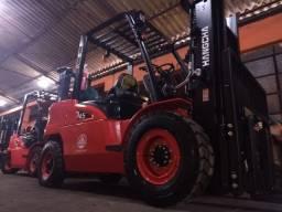 Empilhadeira Diesel | 4,5 toneladas | Torre Triplex de 4,3 metros | Porto Alegre-RS