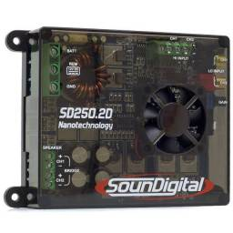 Módulo SounDigital SD 250 2D 2 Canais 300 Watts RMS