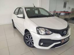 Toyota Etios SD Platinum 1.5 Flex Automático 2019