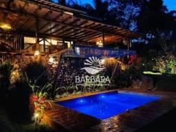 Esplêndida casa com 4 suítes, alto padrão, à venda por R$ 2.000.000 - Lagoa de Aruá - Mata