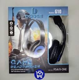 Título do anúncio: Fone Game C/ Microfone Pro, P/ Celular, PS4 e X-One (Entrega gratis)
