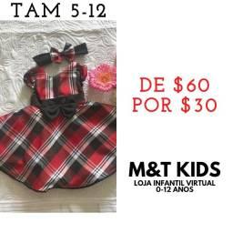 Promoção de vestidos estilo boneca pela metade do preço tamanhos e valores nas fotos