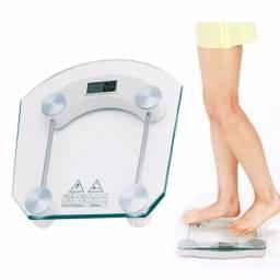 Balanca Digital Vidro Temperado 180kg Banheiro Academia Redo