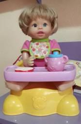 Boneca Little Mommy Troninho Completa