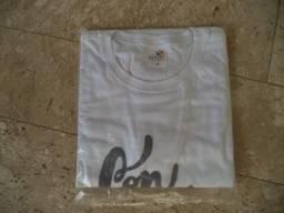 Linda camiseta promocional com serigrafia - tamanho M - Somente wats