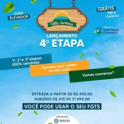Título do anúncio: Villa formosw com entrada a partir de 300,00 reais .