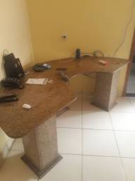 Título do anúncio: Mesa de mármore para escritorio