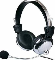 Headphone Com Microfone Plugx F-301