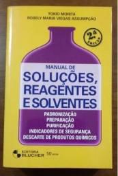Título do anúncio: Livro: Manual de Soluções, Reagentes e Solventes