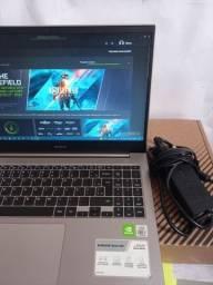 """Notebook Samsung Book X50 Intel Core i7-10510U 8GB 480ssd MX110 2GB 15,6"""""""