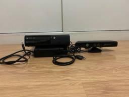 Xbox 360 slim desbloqueado + kinect + 5 jogos