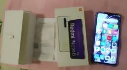 Título do anúncio: Vendo Redmi Note pro 8 cor white 6Gb Ram  128 GB ROM VALOR  1.000,00  f *