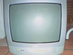 """TV Philips 14"""" - Ler Descrição"""