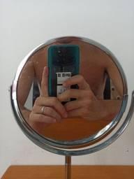 Espelho de rosto para restaurar