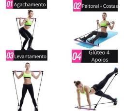 Barra de Pilates para Alongamento