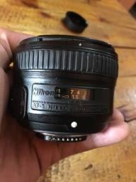 Lente Nikon 50 mm 1.8 G