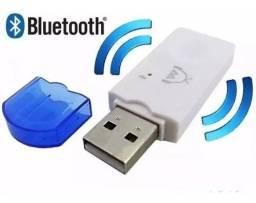 Adaptador Bluetooth USB Carro e Caixa de Som