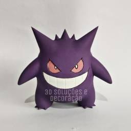 Pokemon Gengar boneco action figure impressão 3D