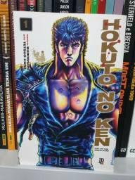 Mangá Hokuto no Ken volumes 1, 2 e 3